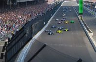 IndyCar-Series-2018.-Indy-500.-Start-1st-Lap